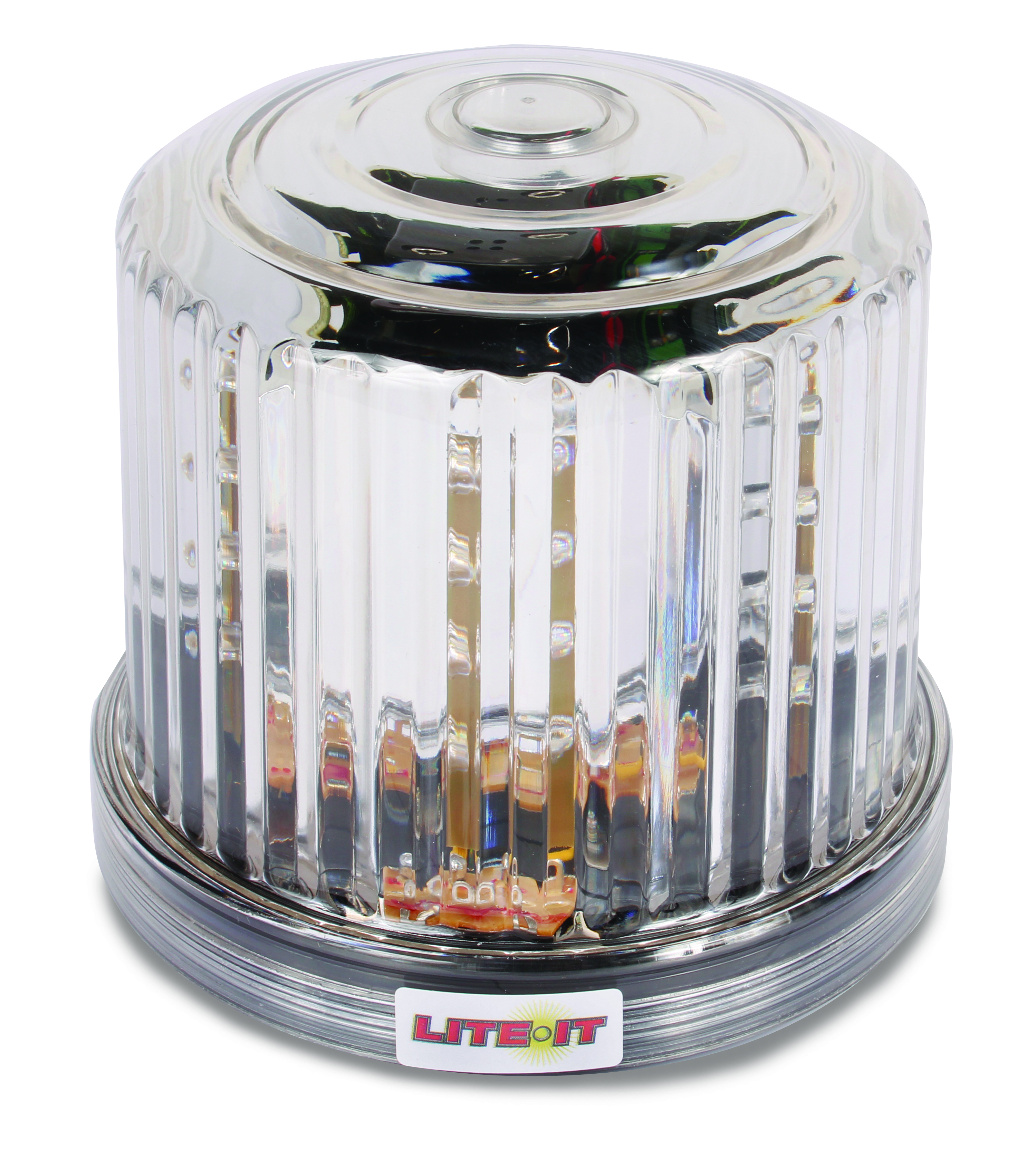 Led White Battery Operated Magnetic Rotating Beacon