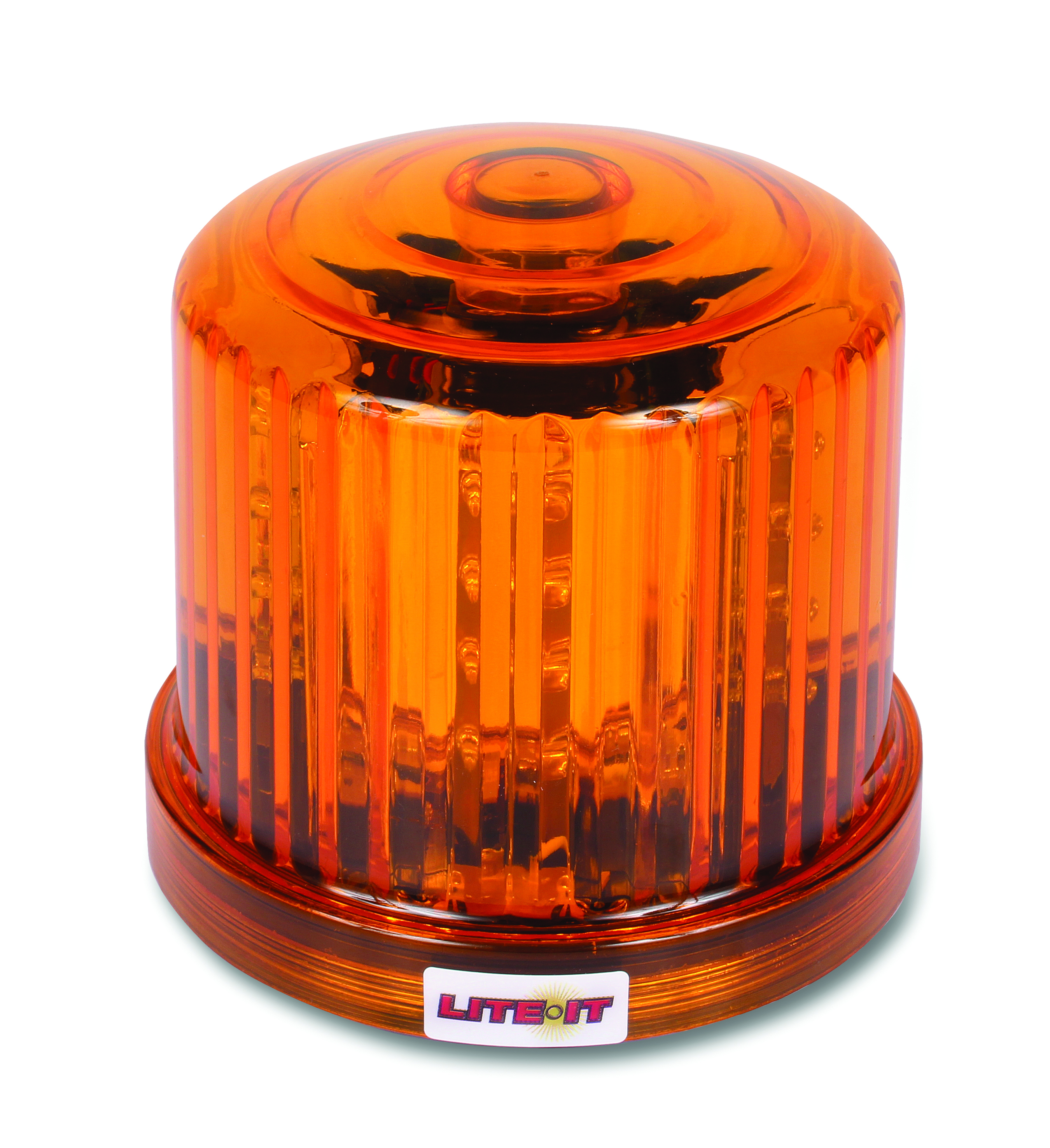 Custer HF20RL Amber Magnetic LED Beacon Battery Operated