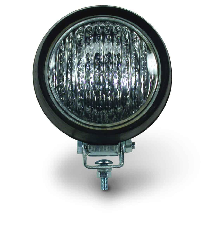Halogen 55-Watt 4″ Flood Lamp With Rubber Housing