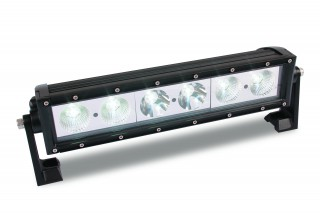 Lite it wireless 60 led light bar with flashers custer products led 60 watt 15 work light bar mozeypictures Choice Image