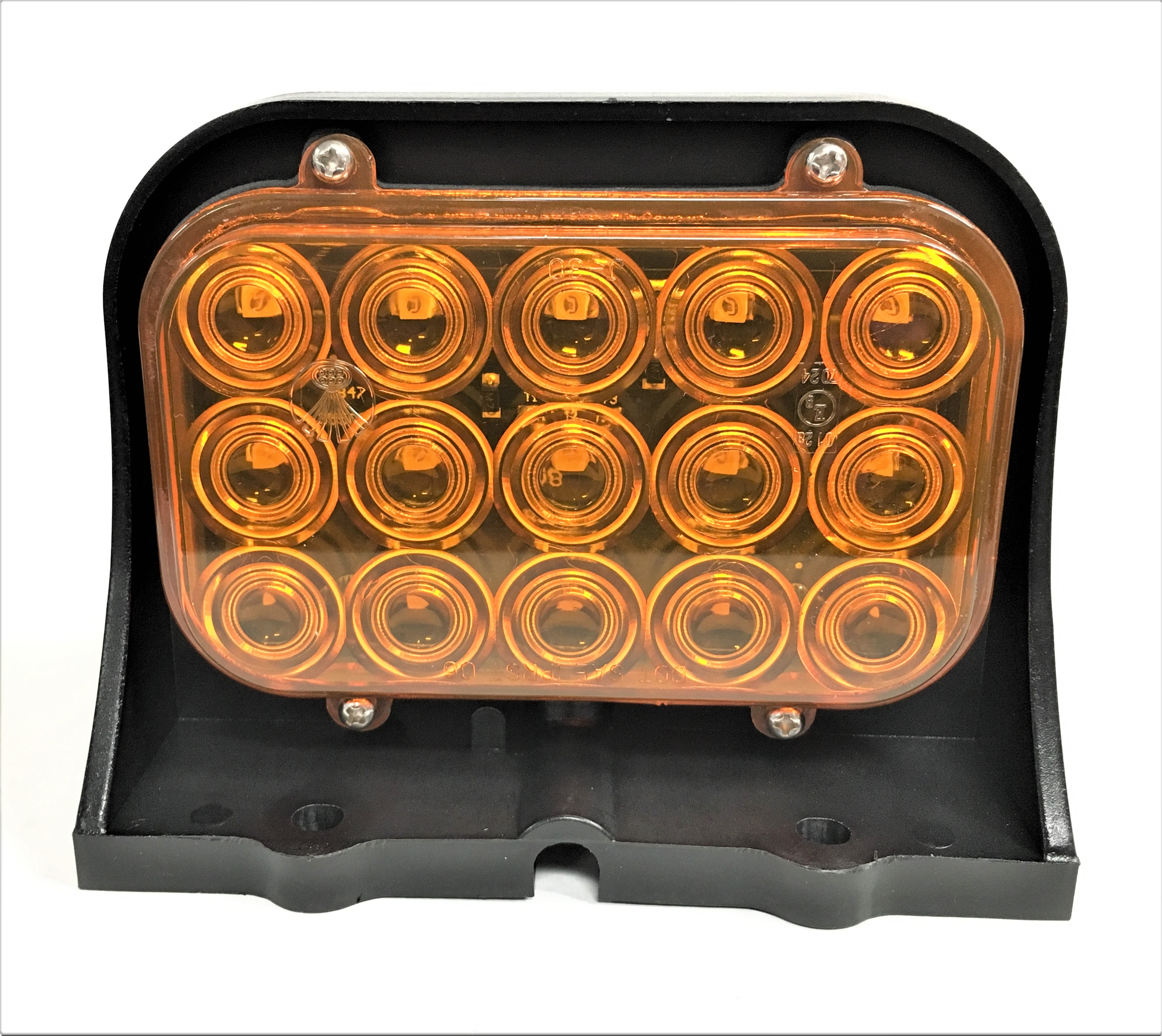 Led Single Amber Amber Ag Light Custer Products