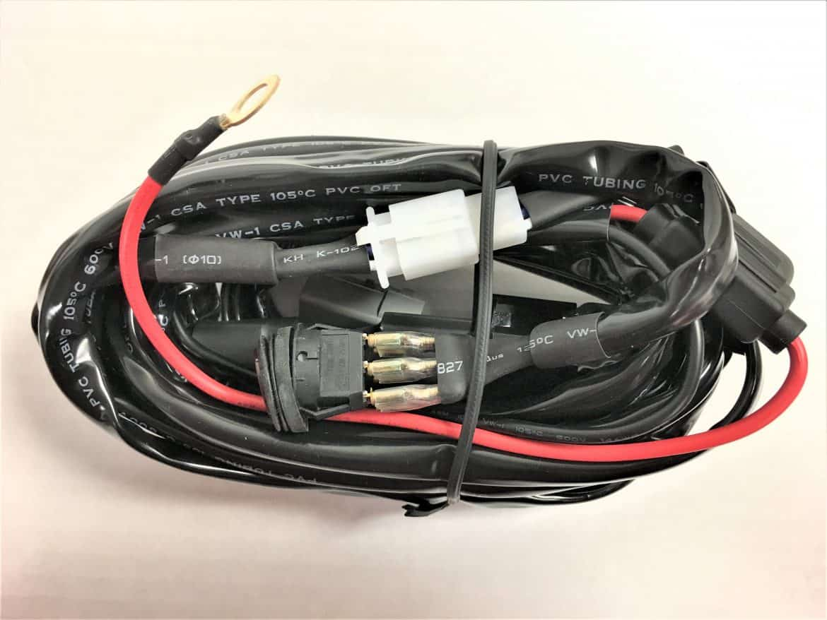 Wiring Harness With 1 Atp Waterproof Connector Custer Products Types