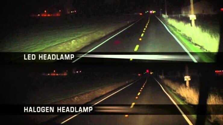 LED versus Halogen