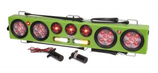 Towing led lights custer products wireless 36 light bar with amberwhite strobes aloadofball Images