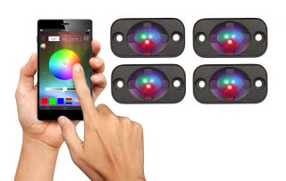 RGB4K with smart phone