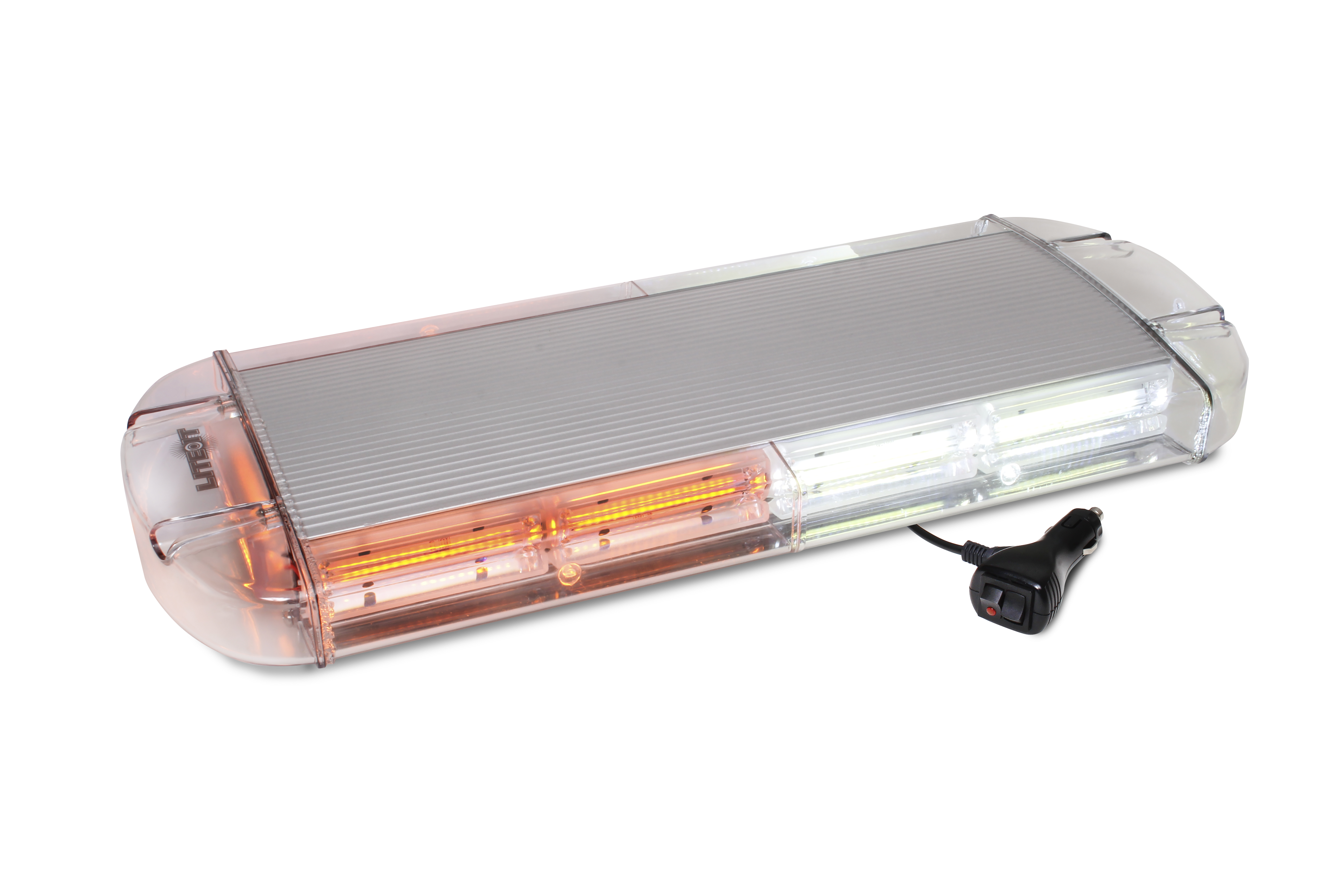 LED ...  sc 1 st  Custer Products & LED 21u2033 Amber/White Rooftop Magnetic Strobe | Custer Products