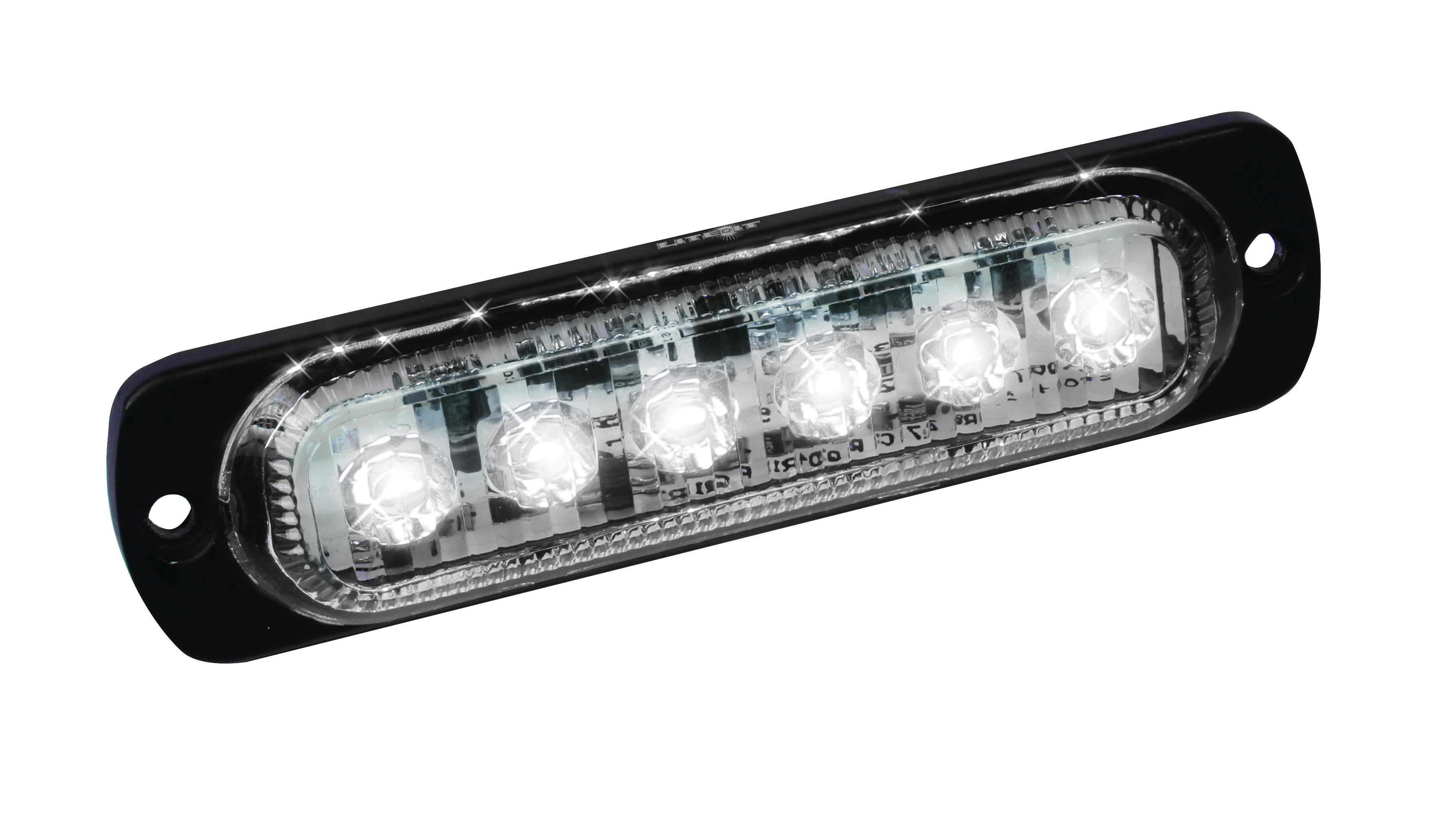 Led Low Profile Strobes With 19 Flash Patterns Custer Products Emergency Light Bar Wiring Diagram